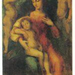 Мадонна с уснувшим младенцем и ангелами 150x150 - Неизвестные художники