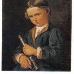 Мальчик с флейтой 150x150 - Неизвестные художники