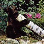 Медведь с брёвнышком  150x150 - Другие животные