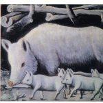 Пиросманашвили Н.А Белая свинья с поросятами 150x150 - Советские художники и зарубежья