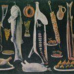 Пиросманашвили Н.А Большой натюрморт 150x150 - Советские художники и зарубежья