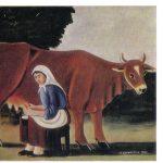 Пиросманашвили Н.А Женщина доит корову 150x150 - Советские художники и зарубежья