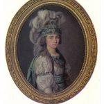 Портрет крепостной актрисы П.И.Ковалёвой Жемчуговой 1 150x150 - Неизвестные художники