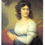 Портрет неизвестной в белом платье 150x150 - Боровиковский Василий Лукич
