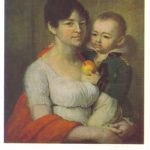 Портрет неизвестной с ребёнком 150x150 - Боровиковский Василий Лукич