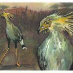 Птица секретарь 2 150x150 - Птицы