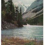 РСФСР. Алтай. Озеро в ущелье Шавла 150x150 - Пейзажи