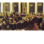 Репин Илья Ефимович Заседание Государственного совета. Эскиз 150x150 - Репин Илья Ефимович