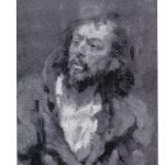 Репин Илья Ефимович Отказ от исповеди. Фрагмент картины 150x150 - Репин Илья Ефимович