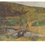 Репин Илья Ефимович Пейзаж с мостиком. 150x150 - Репин Илья Ефимович