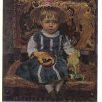 Репин Илья Ефимович Портрет В.И. Репиной дочери художника в детстве 150x150 - Репин Илья Ефимович