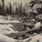 Рила. Зимний пейзаж 4 150x150 - Пейзажи