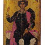 Св. Георгий на троне 150x150 - Неизвестные художники