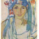 Серебрякова Зинаида Евгеньевна Автопортрет в шарфе 150x150 - Серебрякова Зинаида Евгеньевна