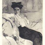 Серов Валентин Александрович Портрет Г.Л.Гиршман 1 150x150 - Серов Валентин Александрович