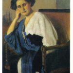 Серов Валентин Александрович Портрет Е.А.Балиной 150x150 - Серов Валентин Александрович