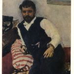 Серов Валентин Александрович Портрет К.А.Коровина 150x150 - Серов Валентин Александрович