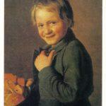 Смеющийся мальчик с пряниками 150x150 - Неизвестные художники