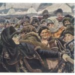 Суриков Василий Иванович Боярыня Морозова. Фрагмент 3 150x150 - Суриков Василий Иванович