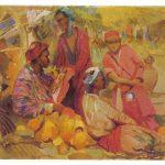 Татевосян О.К Дынный базар 150x150 - Советские художники и зарубежья