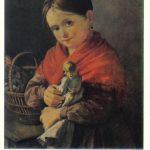 Тропинин Василий Андреевич Девочка с куклой 150x150 - Тропинин Василий Андреевич