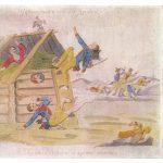 Французская атака русской бани 150x150 - Неизвестные художники