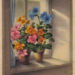 Цветы на подоконнике 150x150 - Цветы
