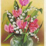 Цикламен и ландыши 150x150 - Цветы